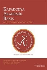 Kapadokya Akademik Bakış - Cappadocia Academic Review