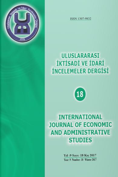 Uluslararası İktisadi ve İdari İncelemeler Dergisi