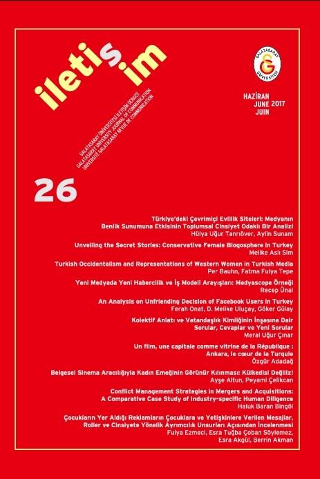Galatasaray Üniversitesi İleti-ş-im Dergisi