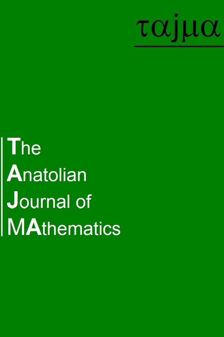 The Anatolian Journal of Mathematics and Applications