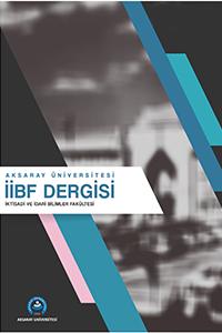 Aksaray Üniversitesi İktisadi ve İdari Bilimler Fakültesi Dergisi