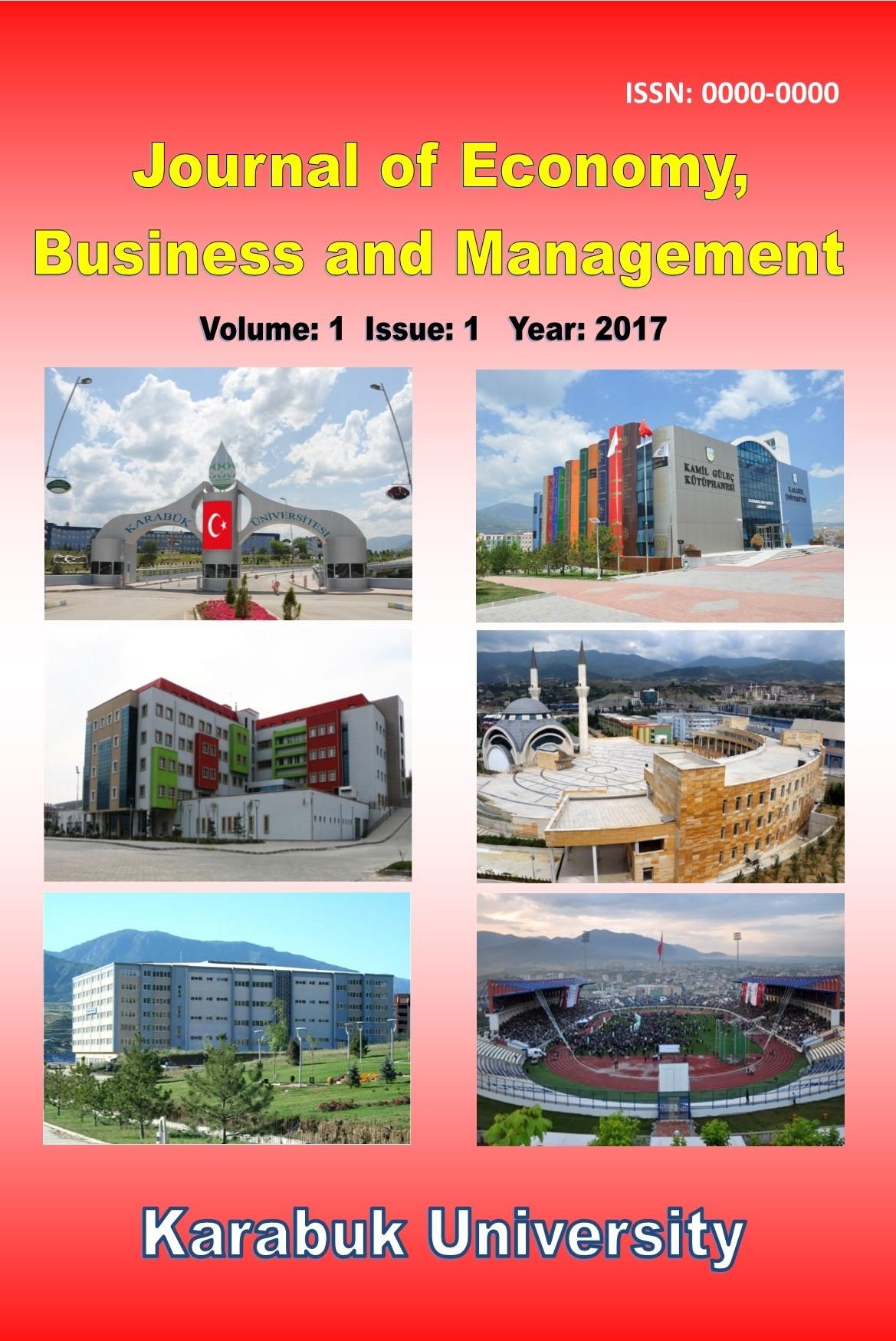 Ekonomi, İşletme ve Yönetim Dergisi