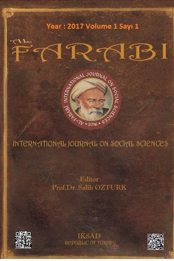 Al-Farabi Uluslararası Sosyal Bilimler Dergisi