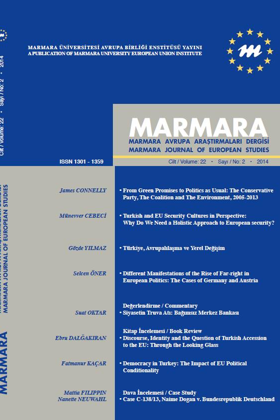 Avrupa Araştırmaları Dergisi