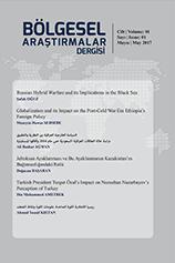 Bölgesel Araştırmalar Dergisi