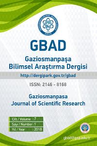 Gaziosmanpaşa Bilimsel Araştırma Dergisi
