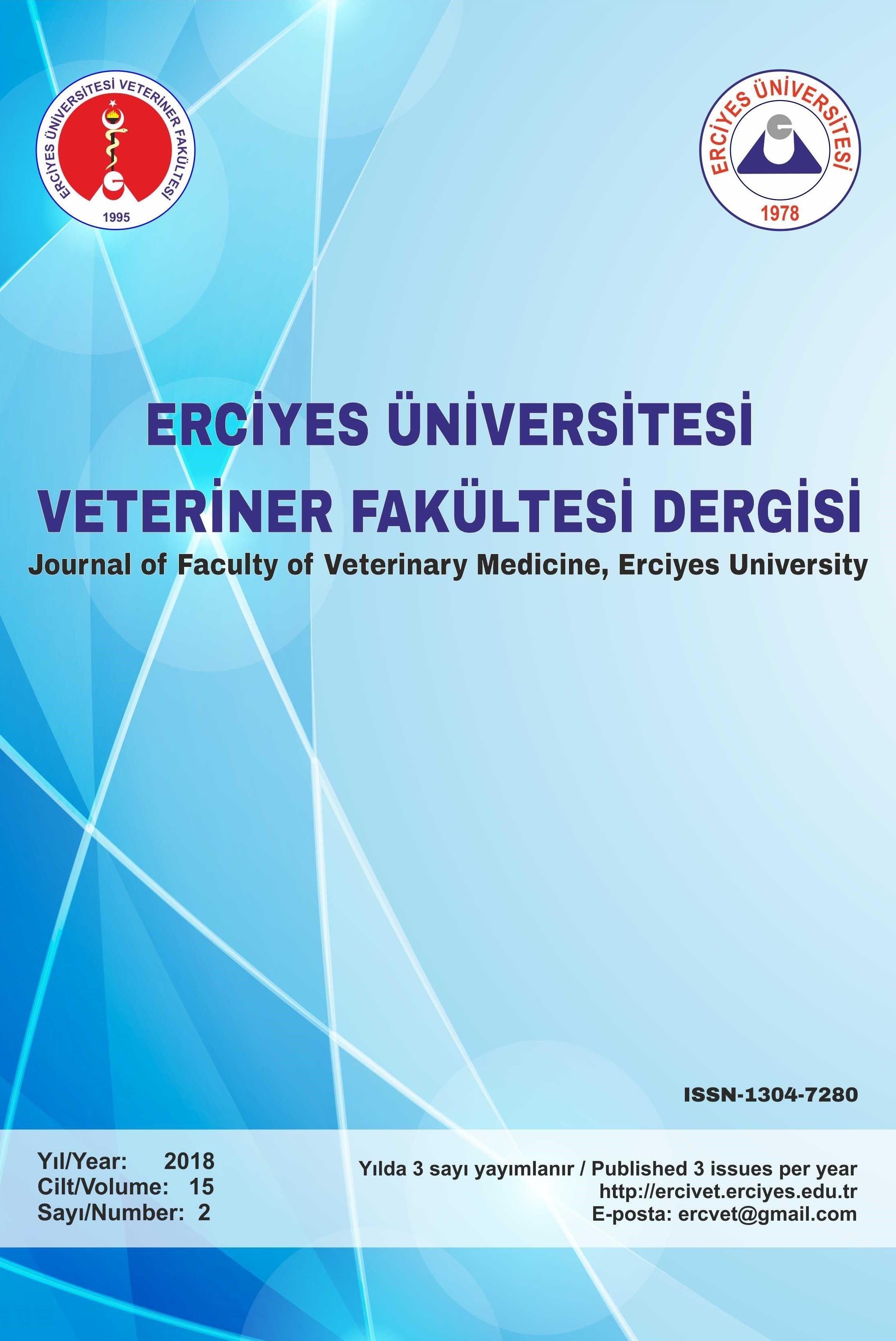 Erciyes Üniversitesi Veteriner Fakültesi Dergisi