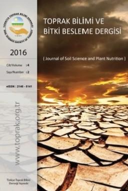 Toprak Bilimi ve Bitki Besleme Dergisi