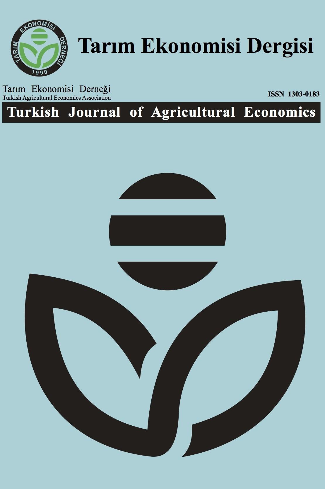 Tarım Ekonomisi Dergisi