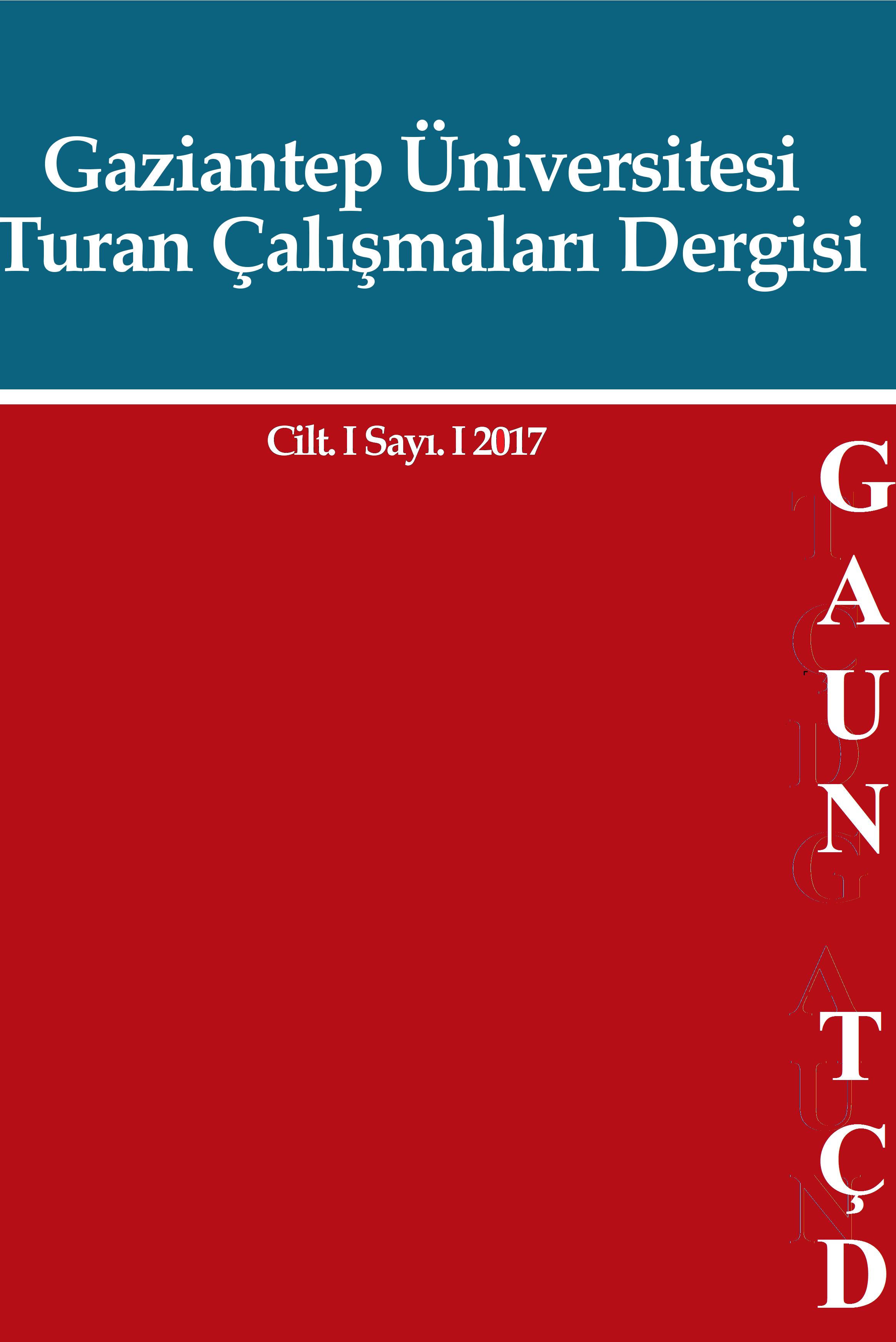 GAUN Turan Çalışmaları Dergisi TÇD