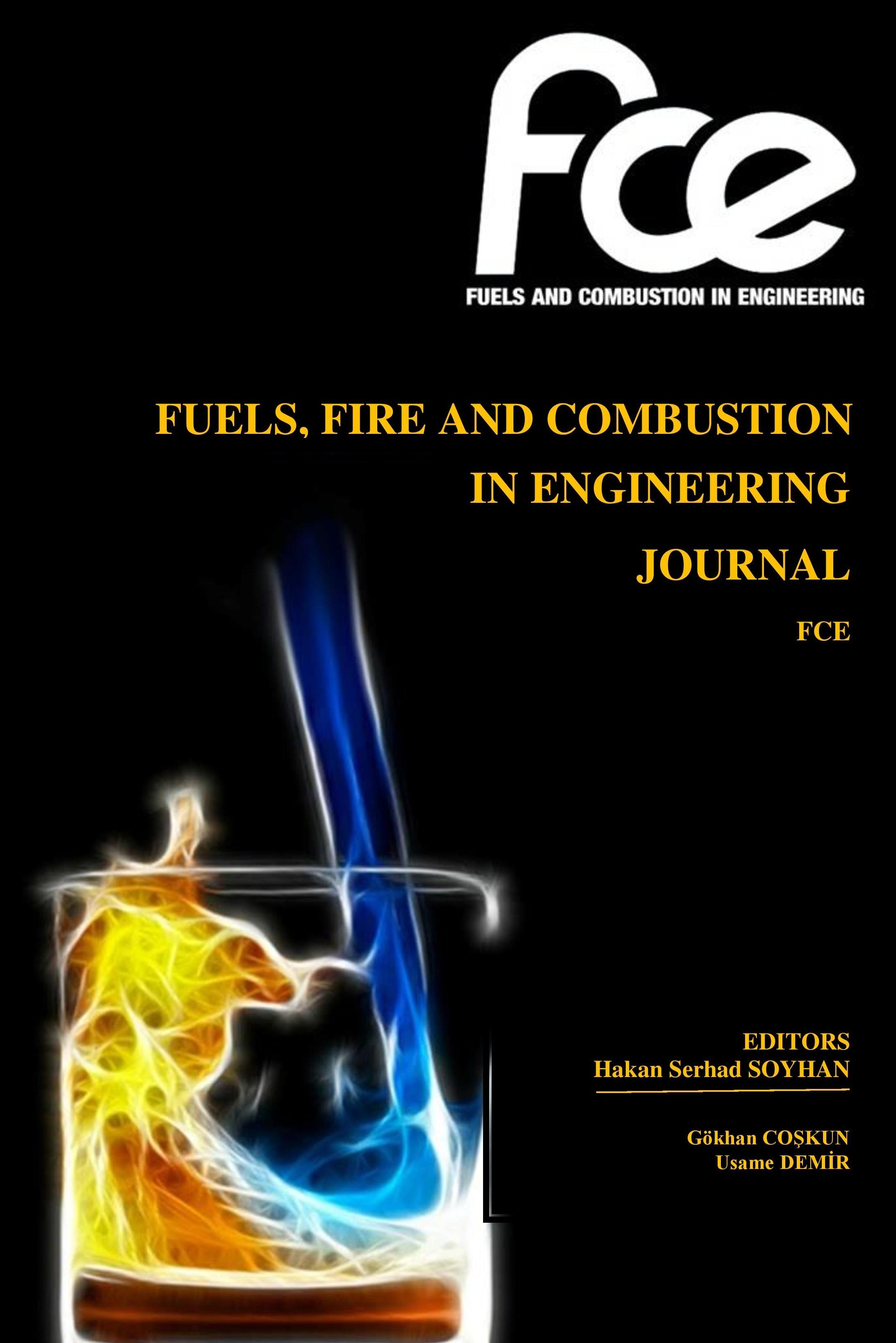Uluslararası Yakıtlar, Yanma Ve Yangın Dergisi