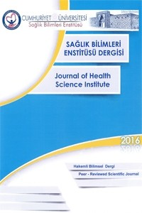 Cumhuriyet Üniversitesi Sağlık Bilimleri Enstitüsü Dergisi