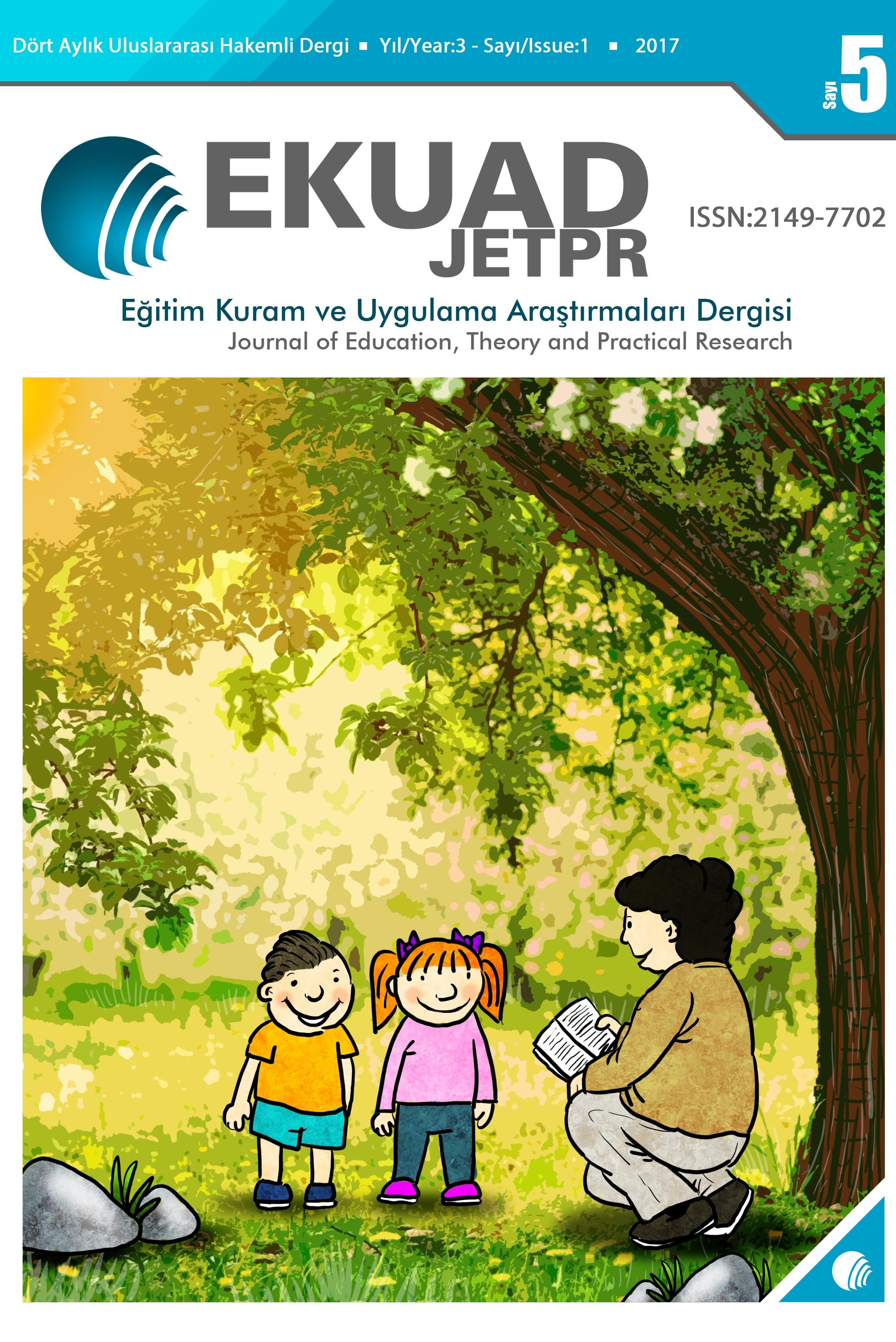 Eğitim Kuram ve Uygulama Araştırmaları Dergisi