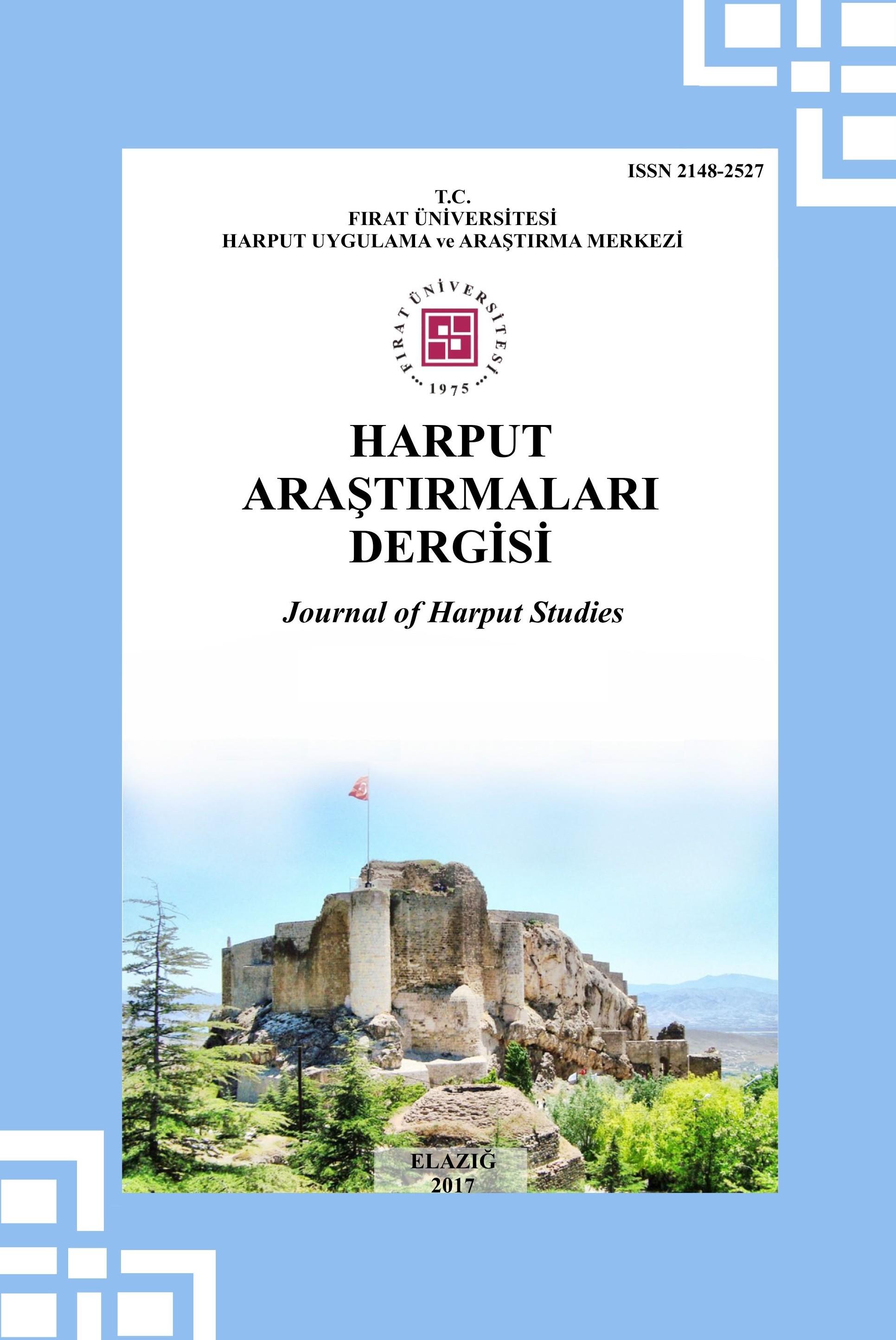 Harput Araştırmaları Dergisi