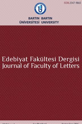 Bartın Üniversitesi Edebiyat Fakültesi Dergisi