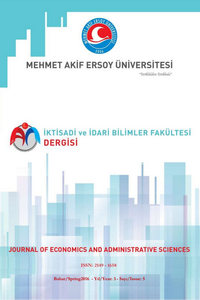 Mehmet Akif Ersoy Üniversitesi İktisadi ve İdari Bilimler Fakültesi Dergisi