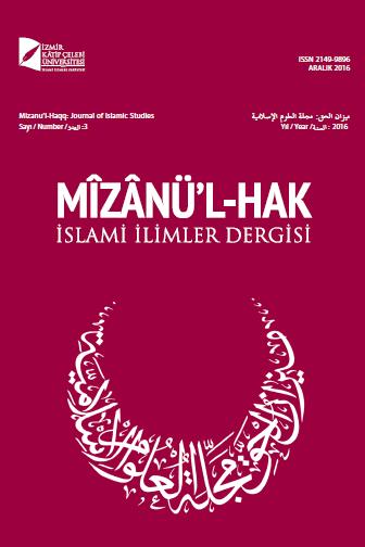 Mîzânü'l-Hak: İslami İlimler Dergisi