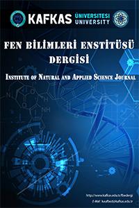 Kafkas Üniversitesi Fen Bilimleri Enstitüsü Dergisi