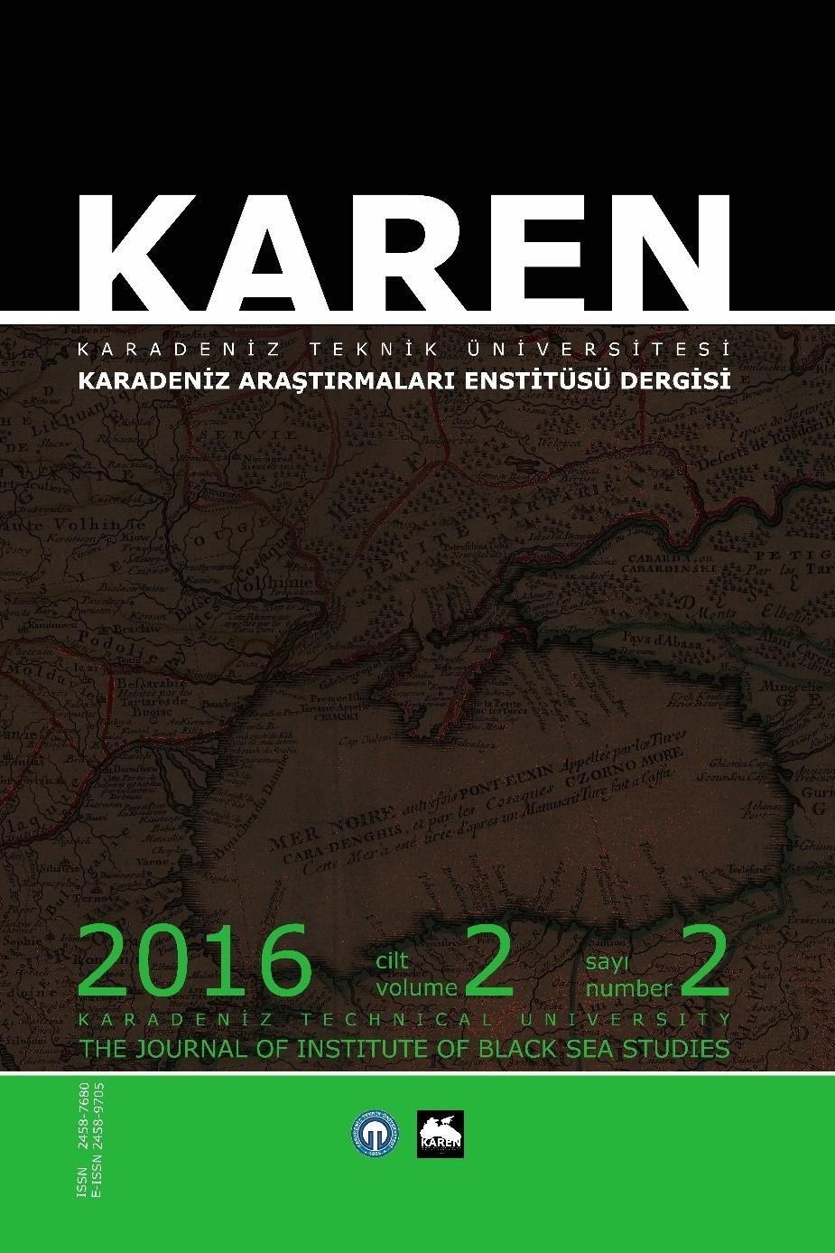 Karadeniz Araştırmaları Enstitüsü Dergisi