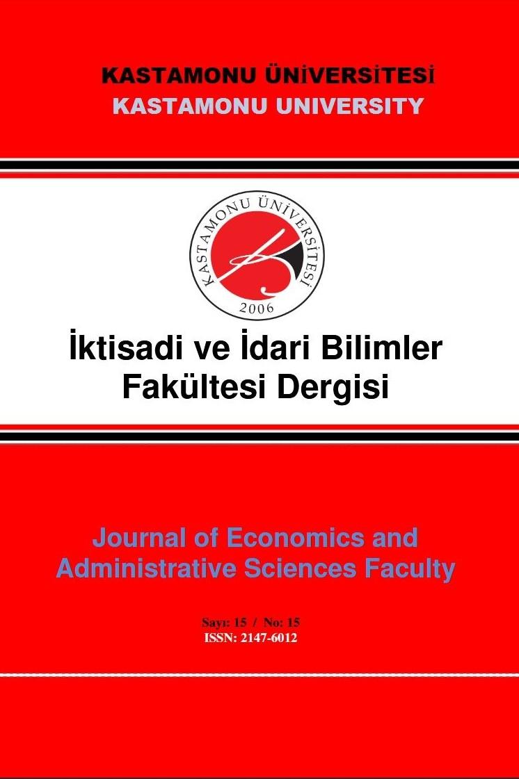 Kastamonu Üniversitesi İktisadi ve İdari Bilimler Fakültesi Dergisi
