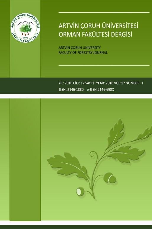 Artvin Çoruh Üniversitesi Orman Fakültesi Dergisi