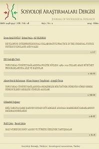 Sosyoloji Araştırmaları Dergisi