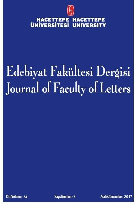 Hacettepe Üniversitesi Edebiyat Fakültesi Dergisi