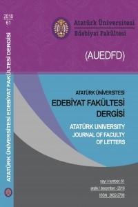 Atatürk Üniversitesi Edebiyat Fakültesi Dergisi