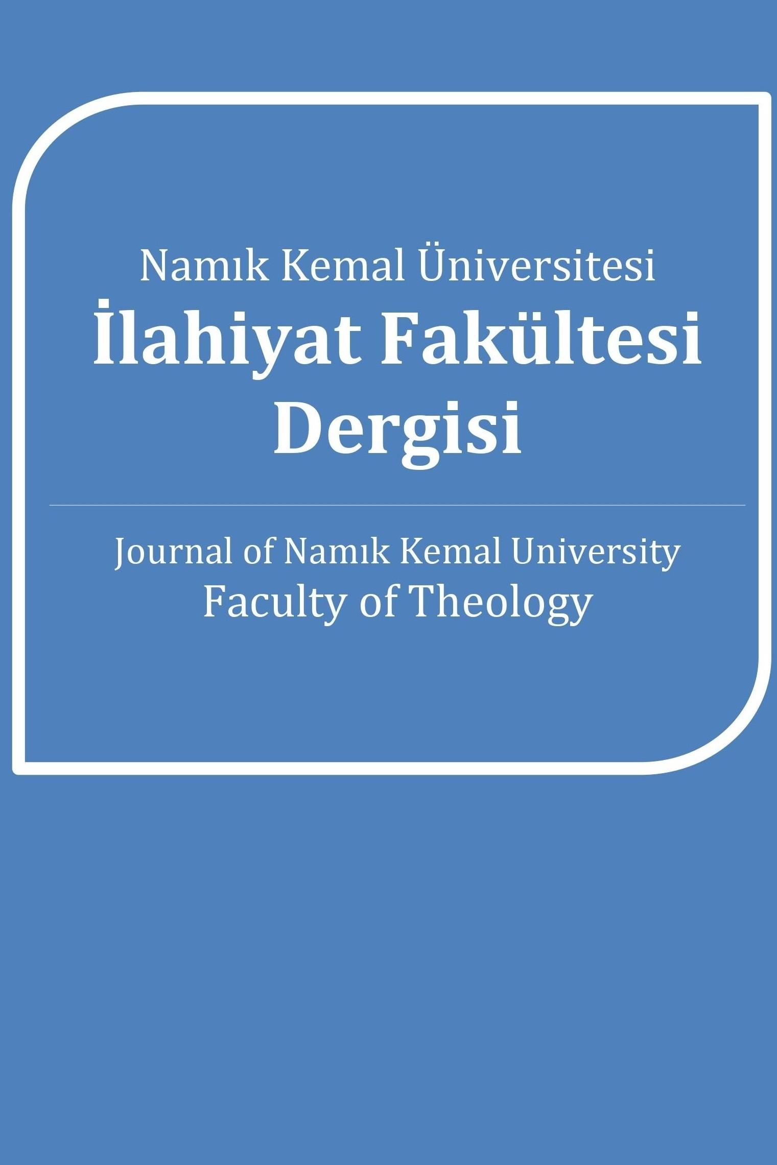 Namık Kemal Üniversitesi İlahiyat Fakültesi Dergisi (NKUIFD)