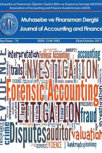 Muhasebe ve Finansman Dergisi