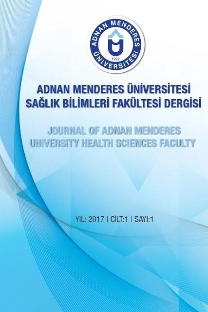 Adnan Menderes Üniversitesi Sağlık Bilimleri Fakültesi Dergisi