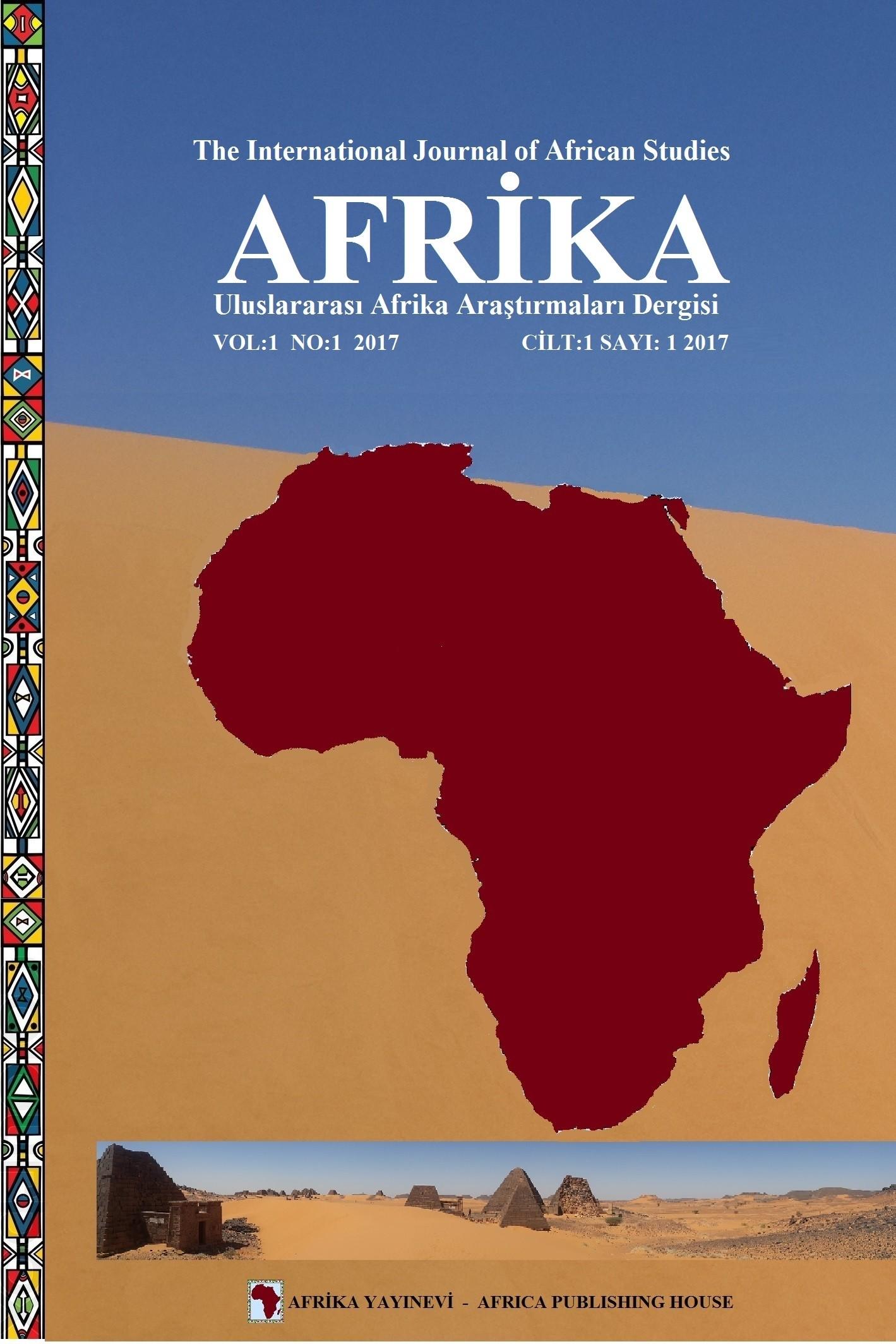 Uluslararası Afrika Araştırmaları Dergisi-The International Journal of African Studies