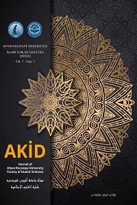 Afyon Kocatepe Üniversitesi İslami İlimler Fakültesi Dergisi