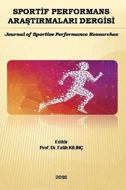 Sportif Performans Araştırmaları Dergisi