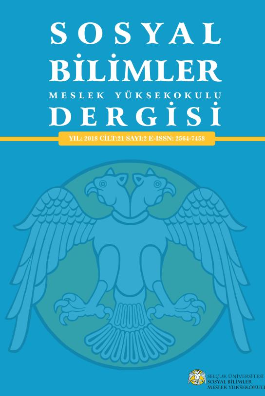 Selçuk Üniversitesi Sosyal Bilimler Meslek Yüksekokulu Dergisi