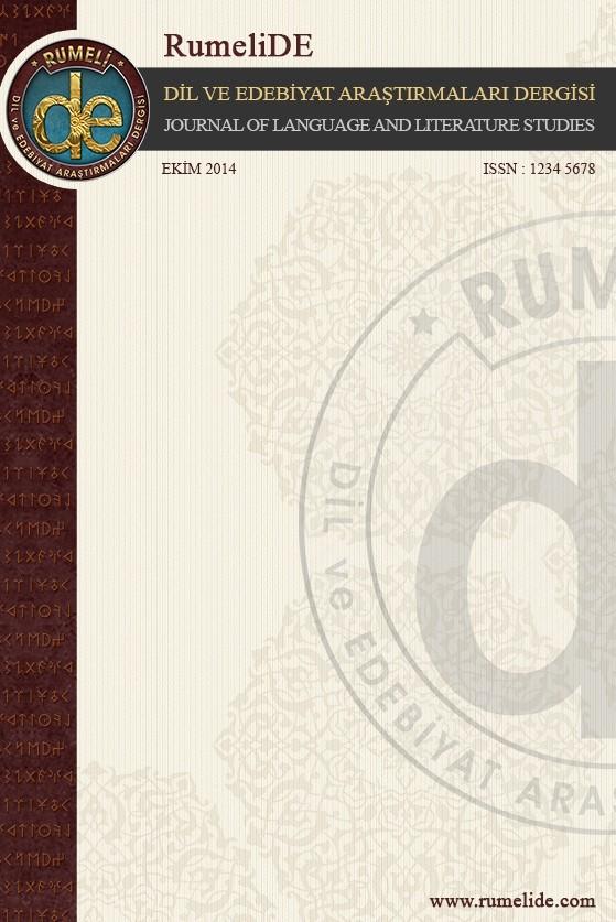 RumeliDE Dil ve Edebiyat Araştırmaları Dergisi