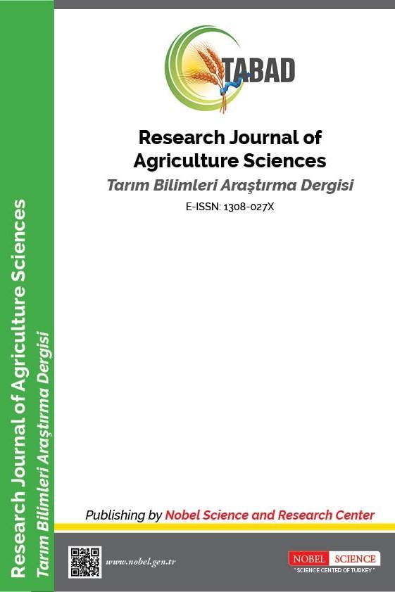 Tarım Bilimleri Araştırma Dergisi
