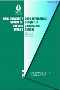 Ordu University Journal of Nursing Studies