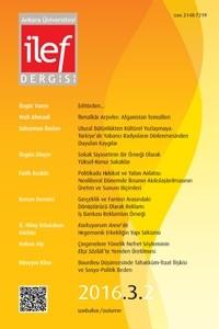 Ankara Üniversitesi İLEF Dergisi
