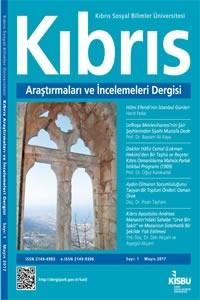 Kıbrıs Araştırmaları ve İncelemeleri Dergisi