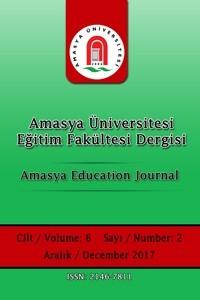 Amasya Üniversitesi Eğitim Fakültesi Dergisi