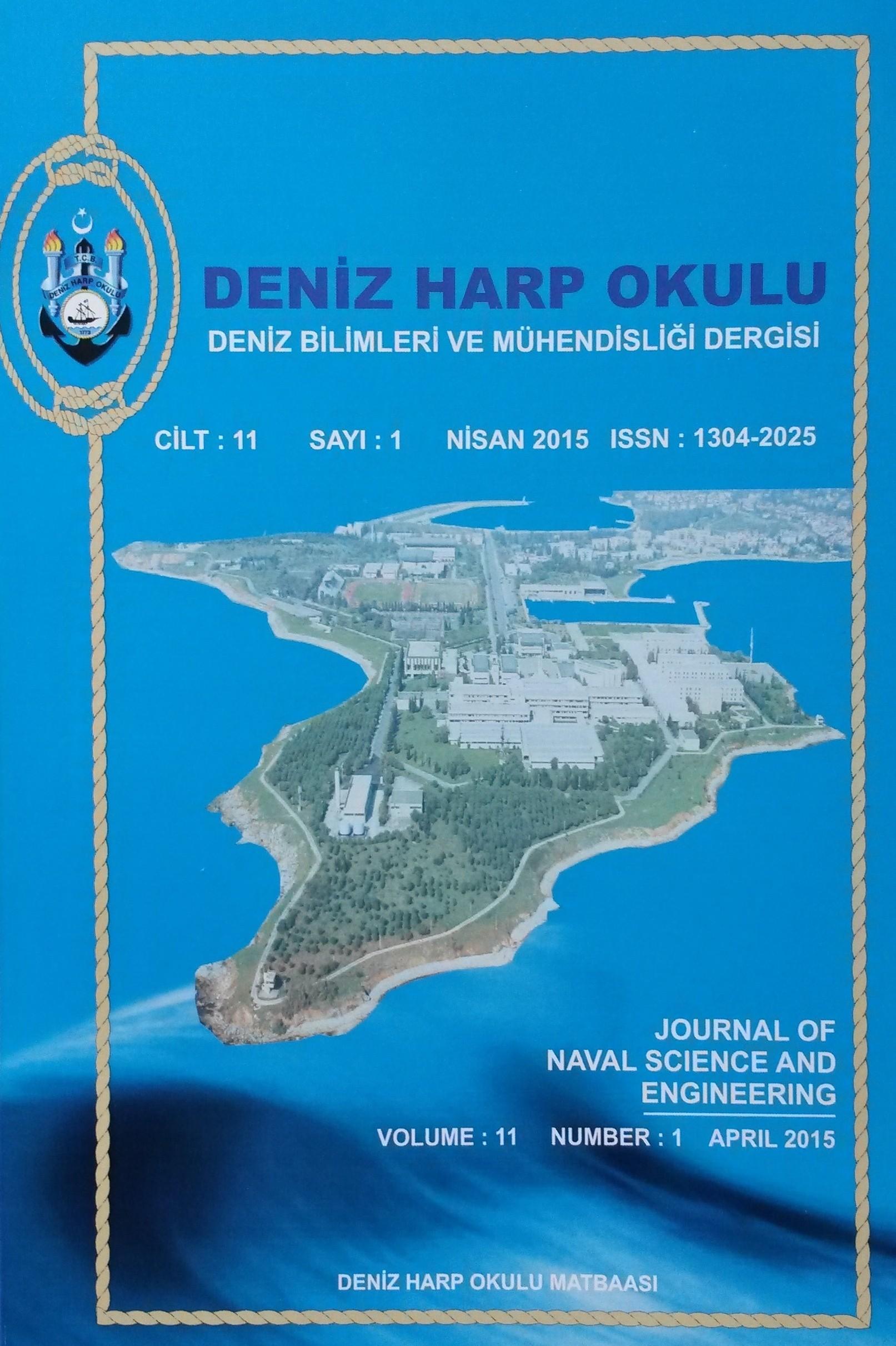 Deniz Bilimleri ve Mühendisliği Dergisi