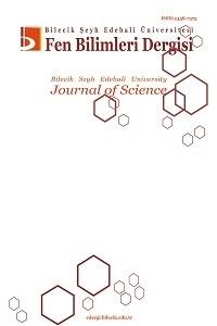 Bilecik Şeyh Edebali Üniversitesi Fen Bilimleri Dergisi