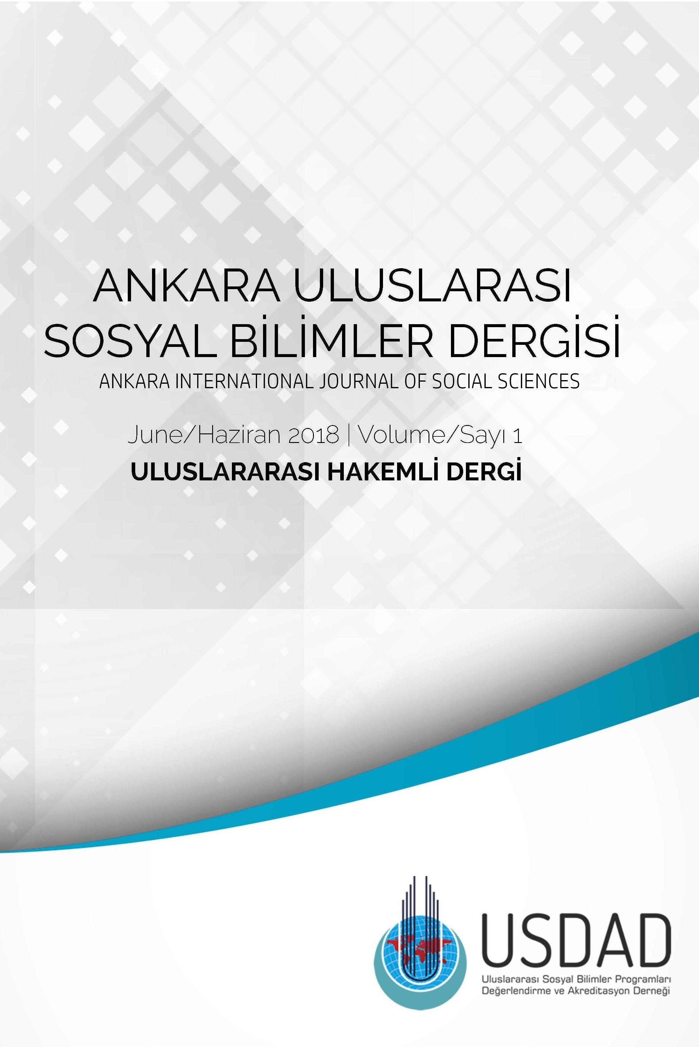 Ankara Uluslararası Sosyal Bilimler Dergisi