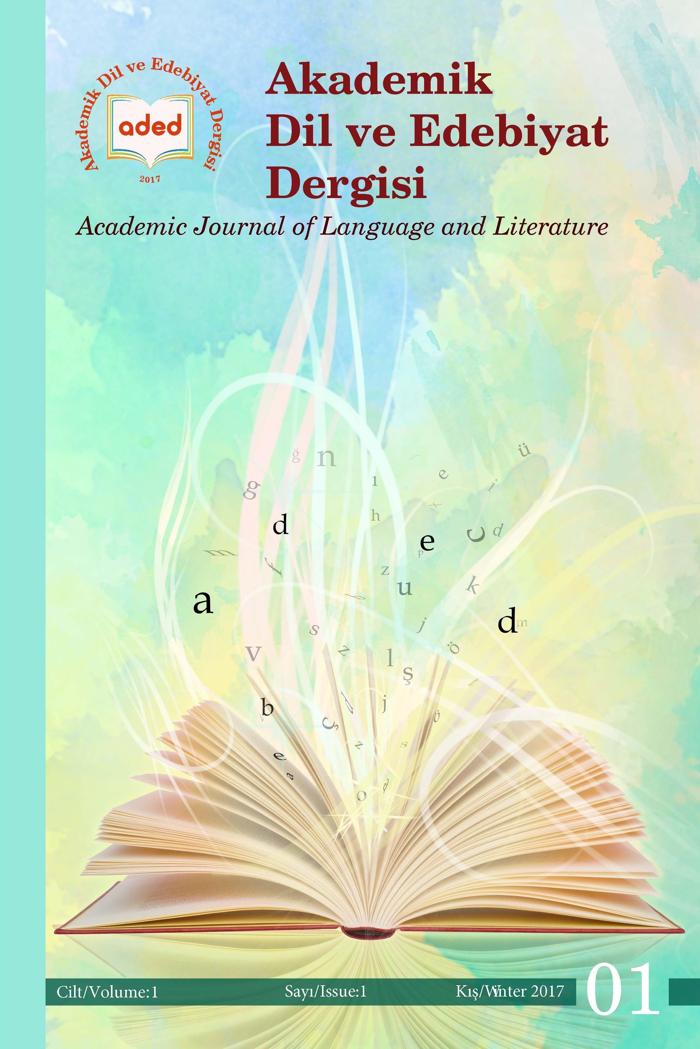 Akademik Dil ve Edebiyat Dergisi
