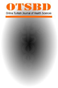 Online Türk Sağlık Bilimleri Dergisi