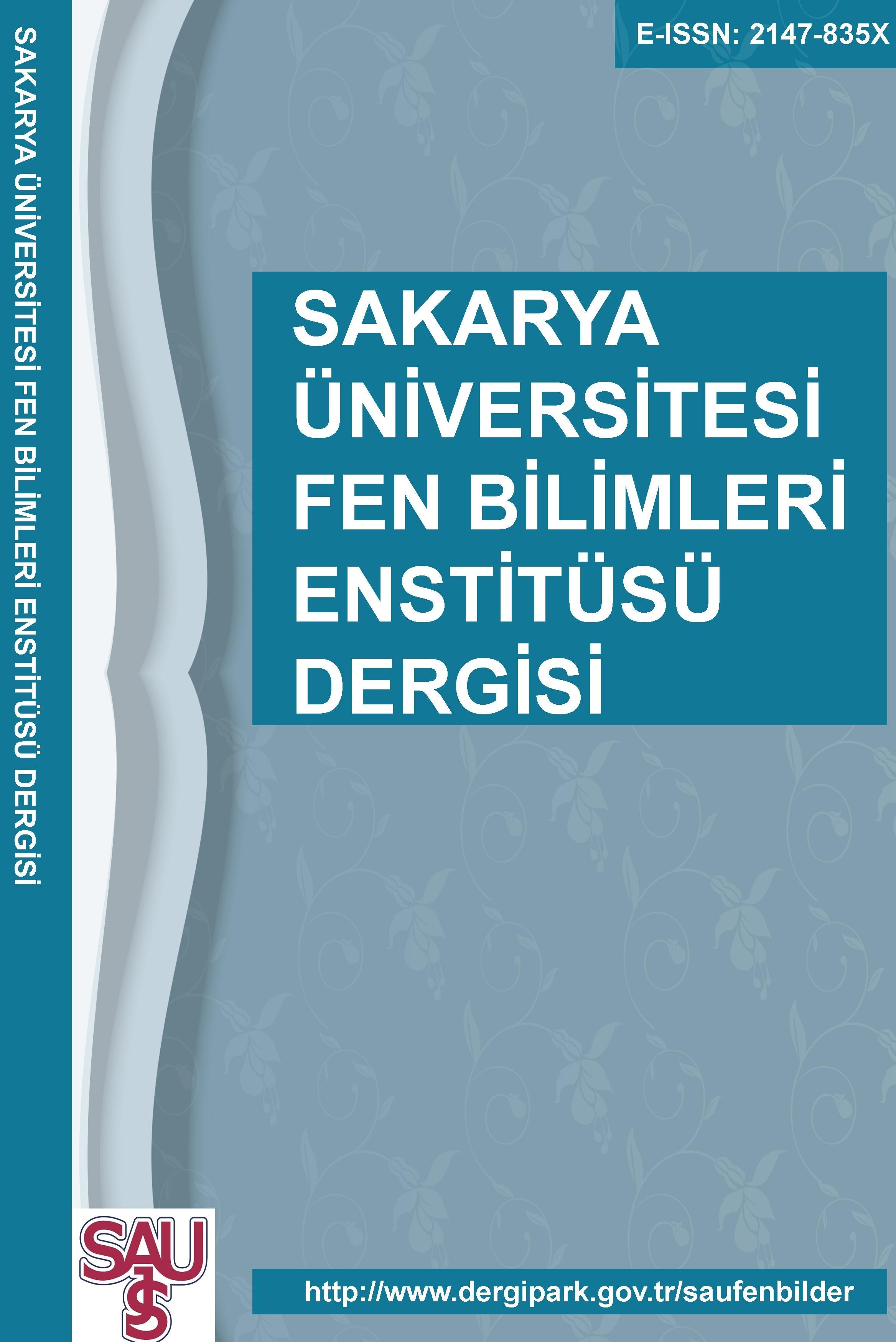SAÜ Fen Bilimleri Enstitüsü Dergisi