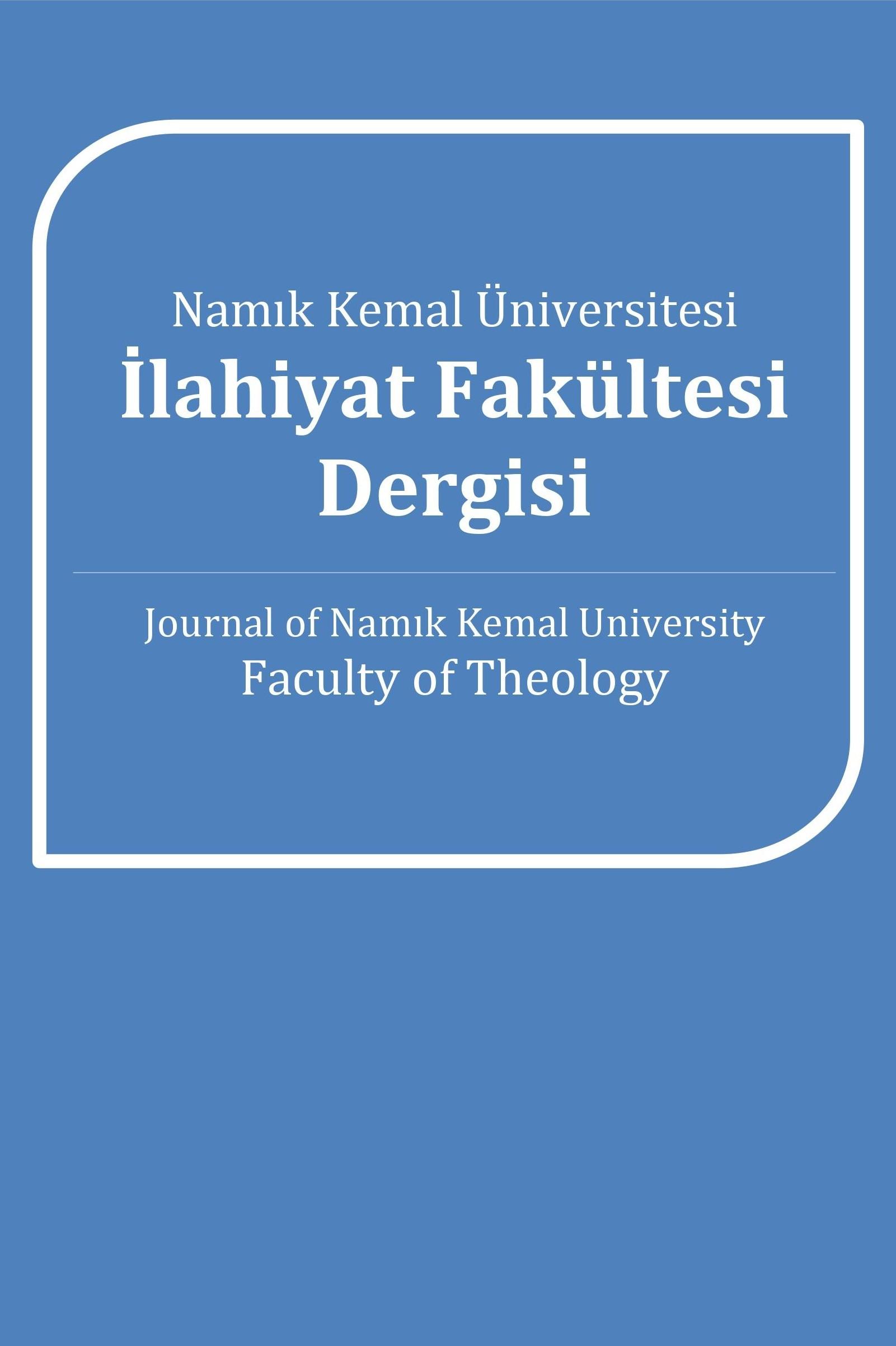 Namık Kemal Üniversitesi İlahiyat Fakültesi Dergisi