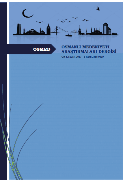Osmanlı Medeniyeti Araştırmaları Dergisi