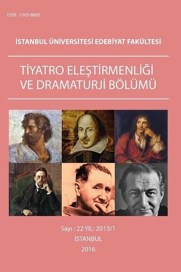 Tiyatro Eleştirmenliği ve Dramaturji Bölüm Dergisi